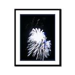 Fireworks Framed Panel Print