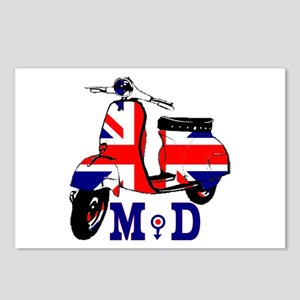 Mods Scooter Postcards (Package of 8)