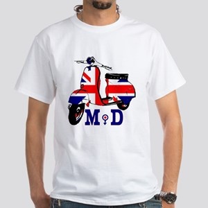 Mods Scooter White T-Shirt