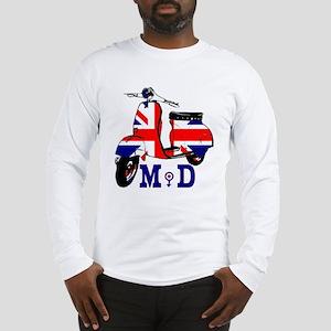 Mods Scooter Long Sleeve T-Shirt