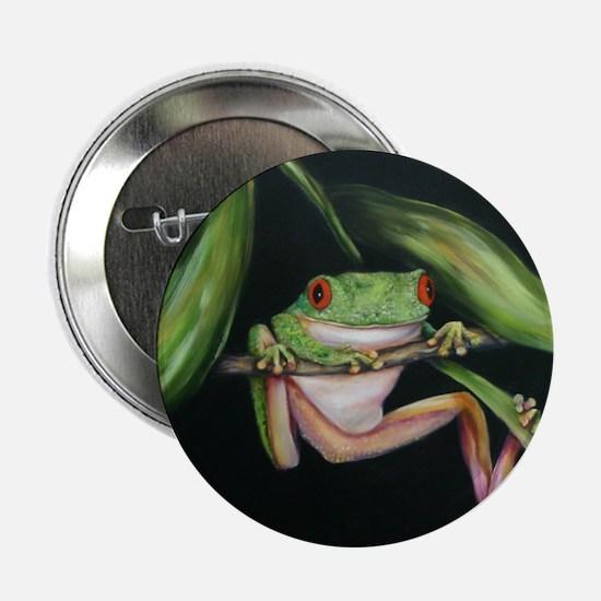 """Fun Frog #3 2.25"""" Button"""