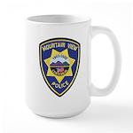 Mountain View Police Large Mug