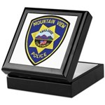 Mountain View Police Keepsake Box