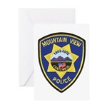 Mountain View Police Greeting Card