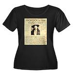 Hickock vs. Coe Women's Plus Size Scoop Neck Dark
