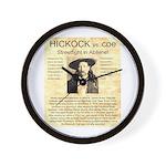 Hickock vs. Coe Wall Clock