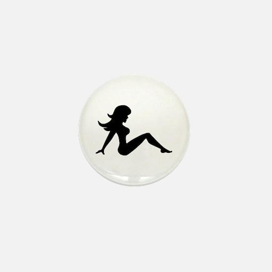 Mud Flap Girl Mini Button