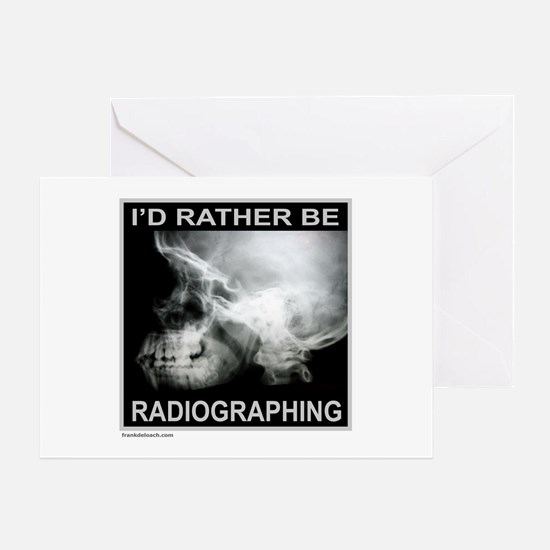 RADIOGRAPHING Greeting Card