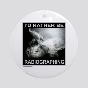 RADIOGRAPHING Ornament (Round)