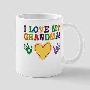 I Love My Grandma Mug