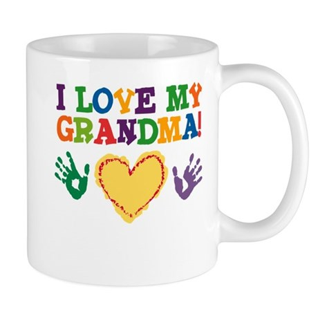 I Love My Grandma Mug