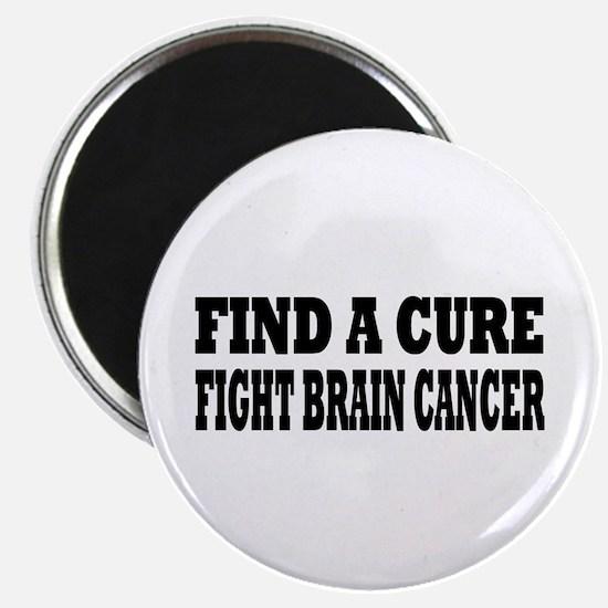 "Brain Cancer 2.25"" Magnet (100 pack)"