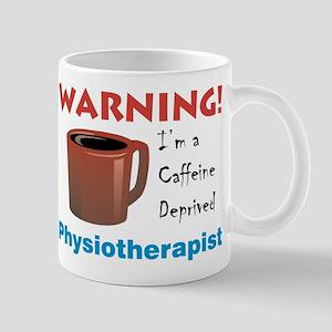 Caffeine Deprived Physio. on Back of Mug