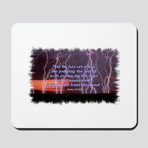 Day of Justice Mousepad