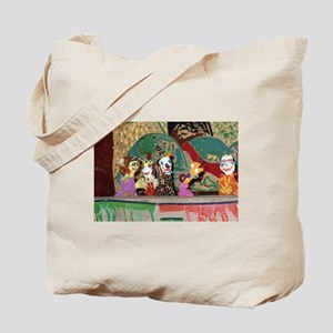 Puppet Show Tote Bag