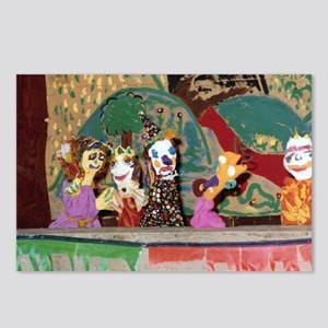 Puppet Show Postcards (Package of 8)