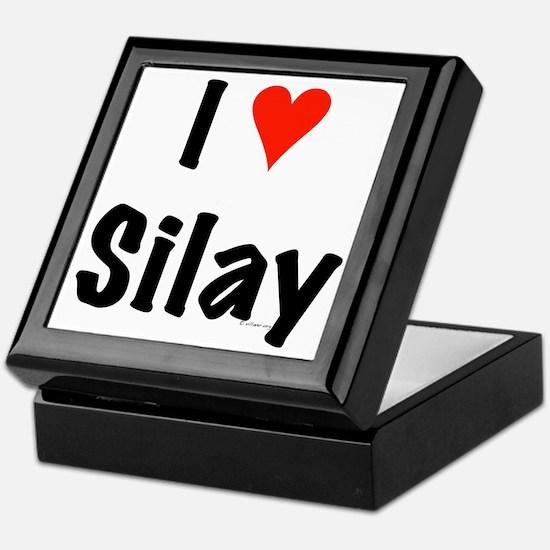 I love Silay Keepsake Box