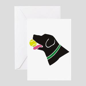 The Retriever Greeting Card