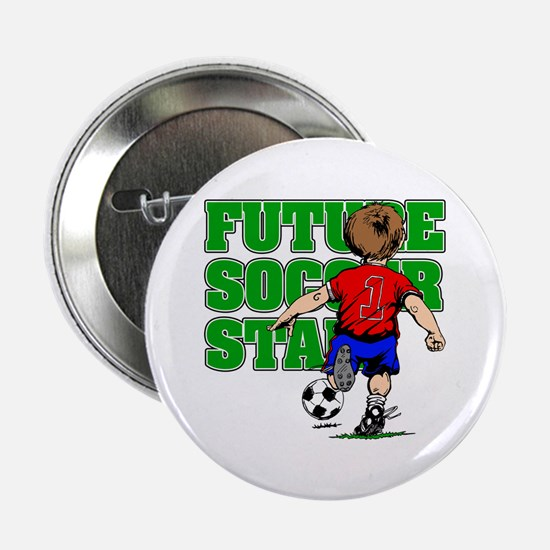 "Future Soccer Star 2.25"" Button (10 pack)"