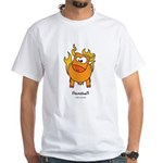 flamabull White T-Shirt