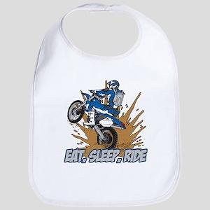 Eat, Sleep, Ride Motocross Bib