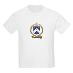 DESCHAMPS Family Crest Kids T-Shirt