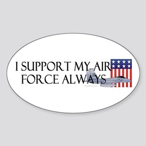 Air Force Always Oval Sticker