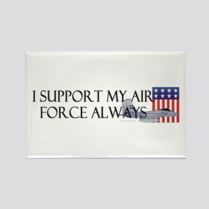 Air Force Always Rectangle Magnet