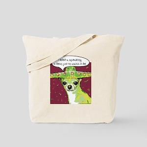 Killer Chihuahua Tote Bag