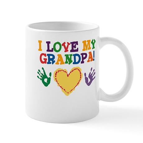 I Love My Grandpa Mug