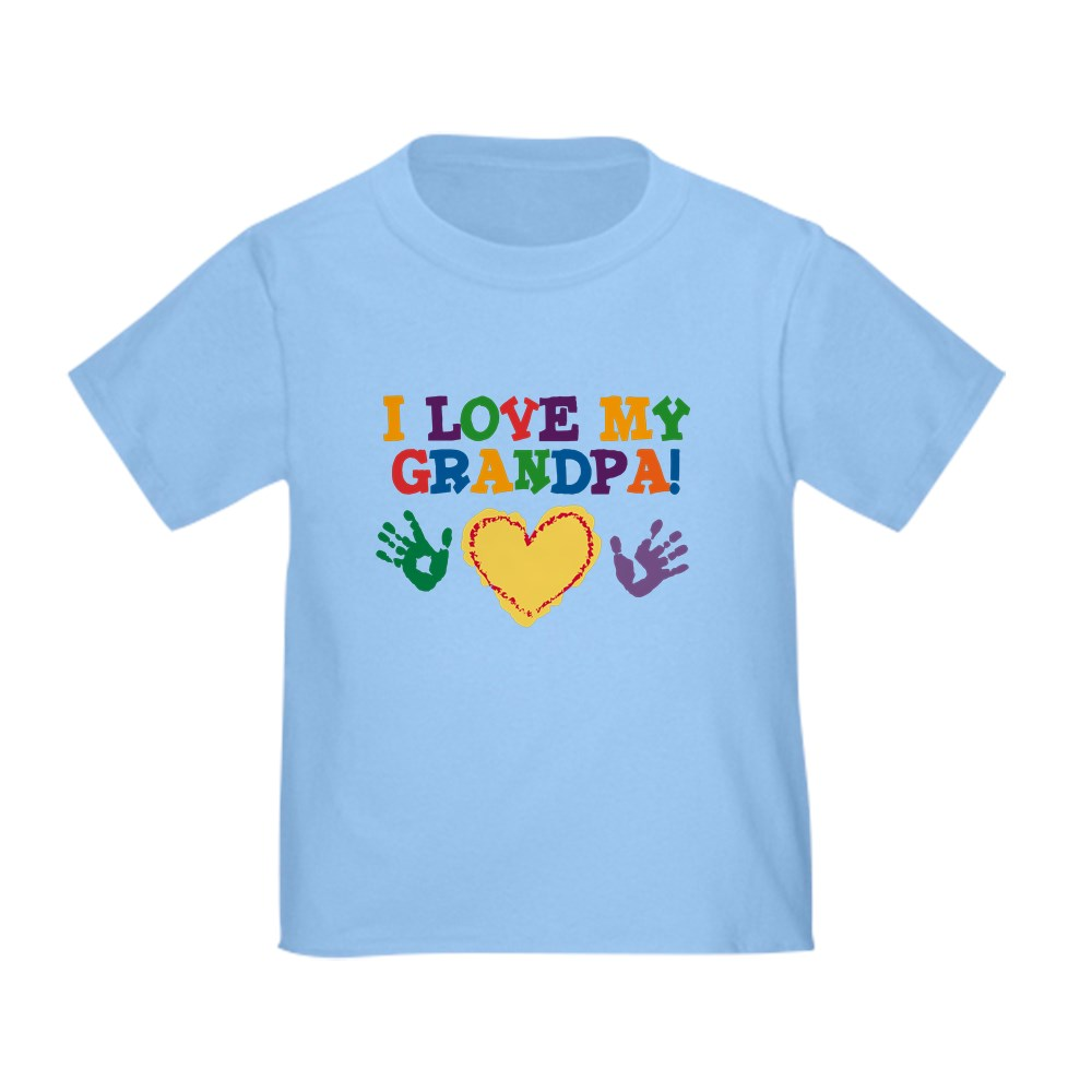 CafePress-I-Love-My-Grandpa-Toddler-T-Shirt-Toddler-T-Shirt-282483491 thumbnail 7