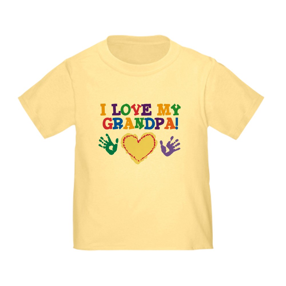 CafePress-I-Love-My-Grandpa-Toddler-T-Shirt-Toddler-T-Shirt-282483491 thumbnail 13