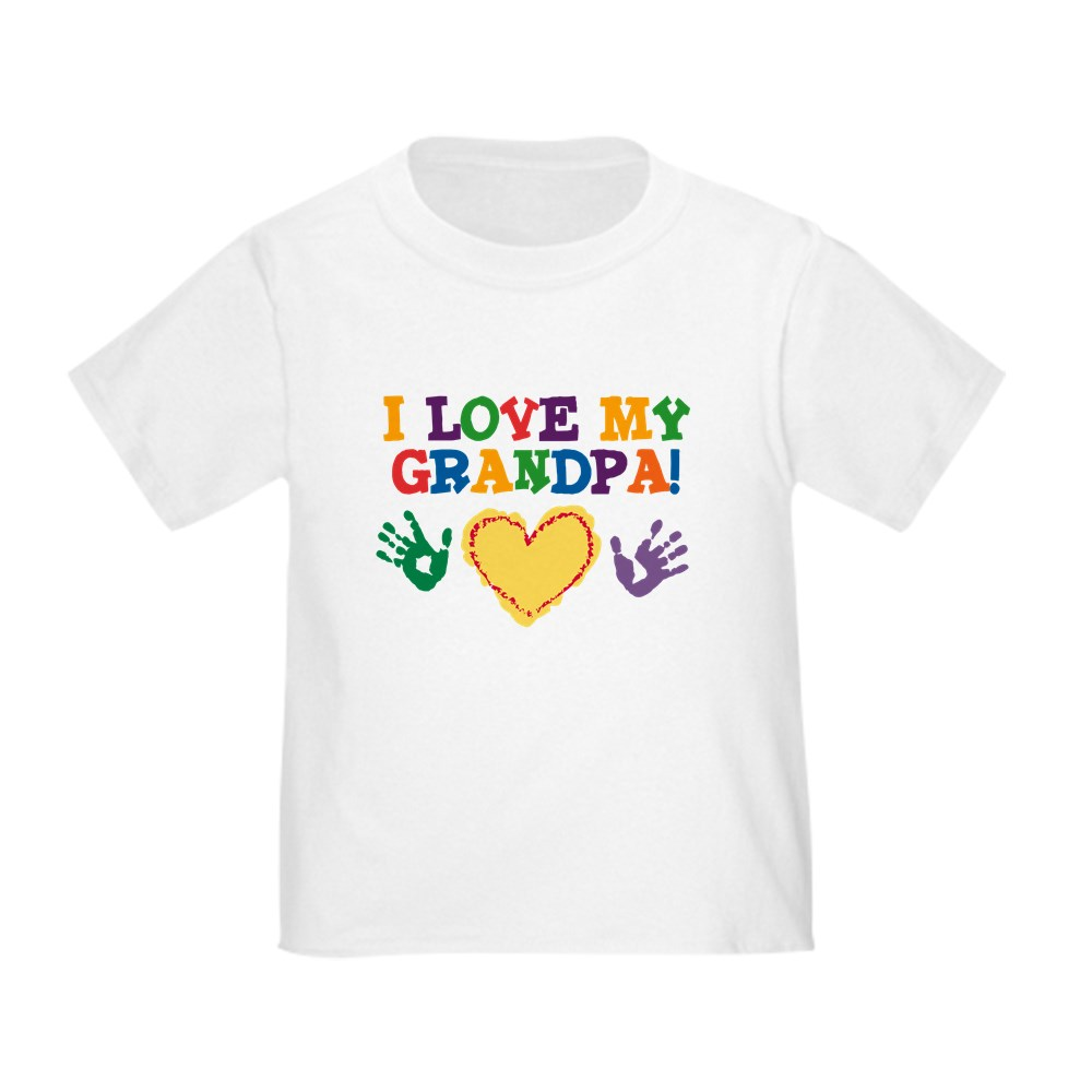 CafePress-I-Love-My-Grandpa-Toddler-T-Shirt-Toddler-T-Shirt-282483491 thumbnail 24
