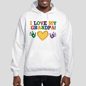 I Love My Grandpa Hooded Sweatshirt