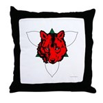 Ealdormere Populace Throw Pillow