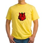 Ealdormere Populace Yellow T-Shirt