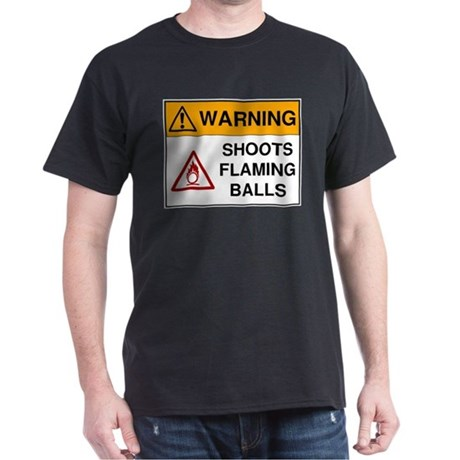 Warning: Shoots Flaming Balls!