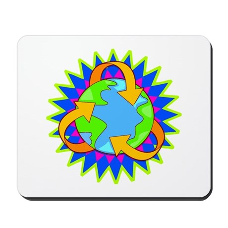 Earth Day Energy Mousepad