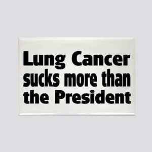 Lung Cancer Rectangle Magnet