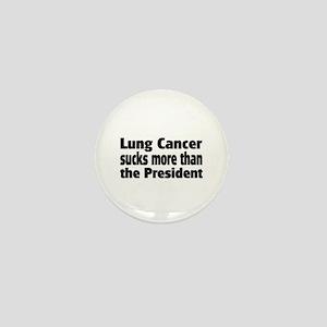 Lung Cancer Mini Button