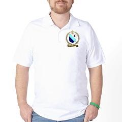 CHARPENTIER Family Crest Golf Shirt