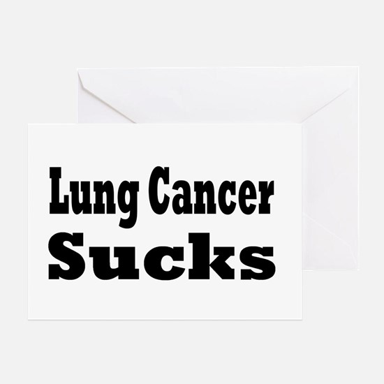 Lung Cancer Greeting Card
