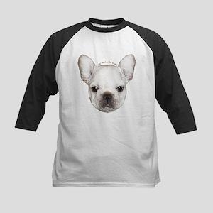 French Bulldog Puppy Kids Baseball Jersey