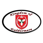 Kingdom of Ealdormere Oval Sticker (50 pk)
