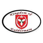 Kingdom of Ealdormere Oval Sticker (10 pk)