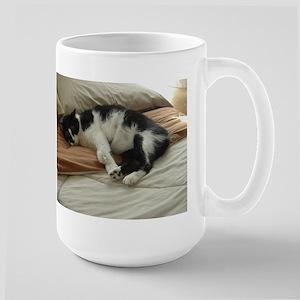 Tuxedo Cat Large Mug