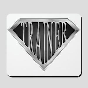 SuperTrainer(metal) Mousepad
