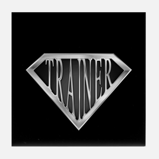 SuperTrainer(metal) Tile Coaster