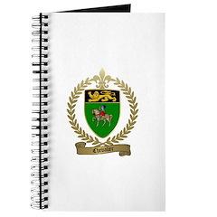 CHEVALIER Family Crest Journal