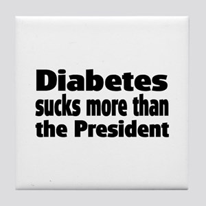 Diabetes Tile Coaster